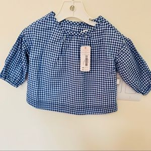 GYMBOREE blouse for baby girl cute!!🌱🌱